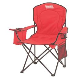 Coleman Chair, Adult Quad w/Cooler, Blue 2000002188