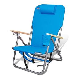 Chairs Beach Camping Outdoor Chair Backpack Position  Steel