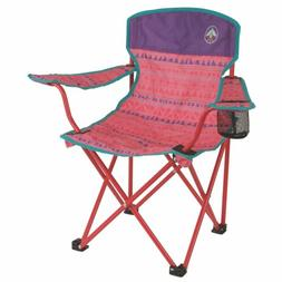 Coleman Chairs Kids Quad Chair, Pink