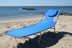Chaise Lounge Chair Patio Folding Beach Pool Outdoor Porch S