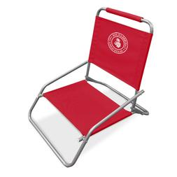 Caribbean Joe CJ-7710RED one Position Folding Beach Chair, R