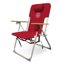 Caribbean Joe CJ-7779RED Five Position high Weight Folding B