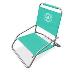Caribbean Joe CJ-7710TEAL one Position Folding Beach Chair,