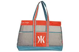 Kijaro Coast Beach Tote, Fiji Sunset Orange/Ionian Turquoise