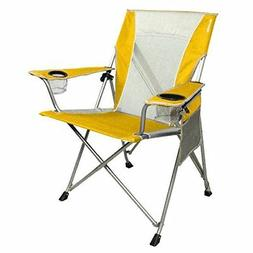 Kijaro Coast Dual-Lock Beach Chair, Haleakala Sunrise Yellow