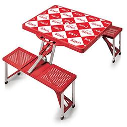 PICNIC TIME Coca-Cola Portable Picnic Table with Seating for