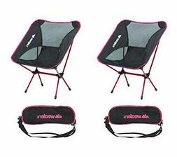 Compact Foldable Beach Backpacking Chair Potable Stool Made