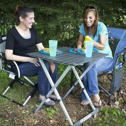 compact folding camping table fast express