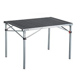 KingCamp Camp Table Steel Frame Fold with Safe Lock Heavy Du