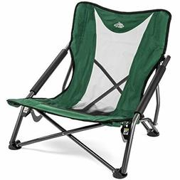 Cascade Mountain Tech Compact Low Profile Outdoor Folding Ca