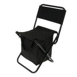 Cooler Backpack Stool Foldable Beach Fishing Camping Chair w