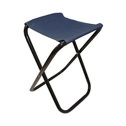ALEKO CS02BL Outdoor Foldable Camping Chair Fishing Stool Po