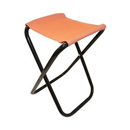 ALEKO CS02OR Outdoor Foldable Camping Chair Fishing Stool Po