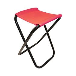 ALEKO CS02RD Outdoor Foldable Camping Chair, Fishing Stool,
