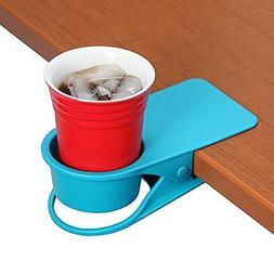 SERO Innovation Cup Clip Drink Holder - Blue - Snap to table
