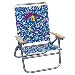 Tommy Bahama Easy In Out Beach Chair Blue Print Fastest Ship