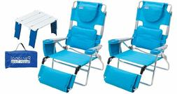 Rio Beach Face Opening Read-Through Sunbed High Seat Beach C