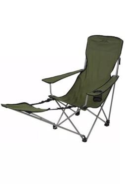 folding camp chair with footrest adults picnic