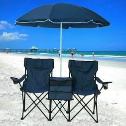 folding camping outdoor picnic double chair