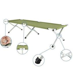 Portable Foldable Camping Bed Army Military Camping Cot Hiki
