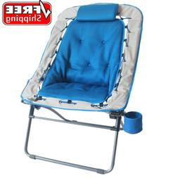 Folding Oversize Bungee Chair for Camping Hiking Outdoor Sea
