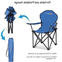 FOLDING PORTABLE OUTDOOR CAMPING BEARING BEACH CAMP CHAIR LI