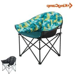 KingCamp Folding Sofa Chair Oversize Deluxe Padded Portable