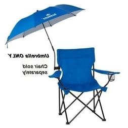 Folding Umbrella Clamp On For Outdoor Chair Beach Camping Pa