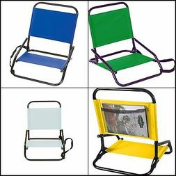"""Stansport G-12-10 Sandpiper Sand Chair 4""""x16""""x19"""", 4 Colors"""