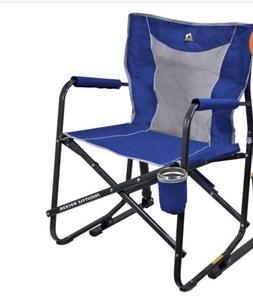 GCI Outdoor Freestyle Rocker Mesh Chair - Royal Blue