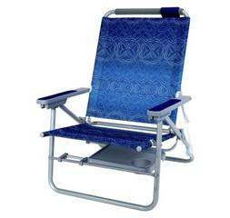 GCI Waterside Big Surf Beach Chair with Slide Table, Waikiki