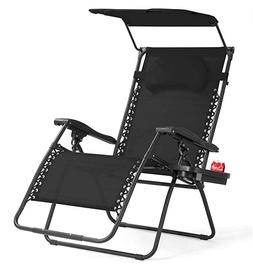 Camping Furniture › Chairs- Lounge Chair Wide Recliner for