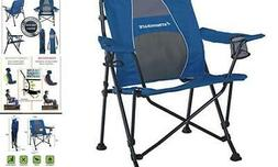 STRONGBACK Guru Folding Camp Chair with Lumbar Support New N