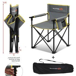 Heavy Duty Camping Chair Lightweight Folding Fishing Beach C