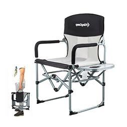 KingCamp Heavy Duty Compact Camping Folding Mesh Chair with