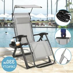 Heavy Duty Zero Gravity Folding Lounge Beach Chairs Square F
