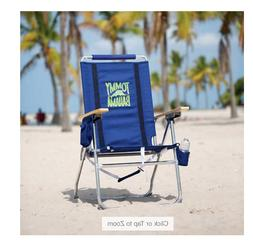 Tommy Bahama Hi-Boy Beach Chair Blue