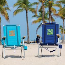 "Tommy Bahama Hi-Boy Beach Chair Sits 17"" Off the Ground"