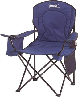 HOT - Coleman Portable Camping Quad Chair with 4-Can Cooler