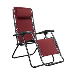 Infinity Zero Gravity Chair - Color: Burgundy