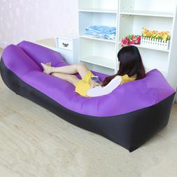 Inflatable Air Sleeping Bag Lazy Chair Lounge AirBeds Beach