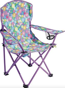 Junior Camping Picnic Chair Compact Steel Fold Beach Camp Ou