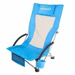 KingCamp Low Sling Beach Chair for Camping Concert Law, Low