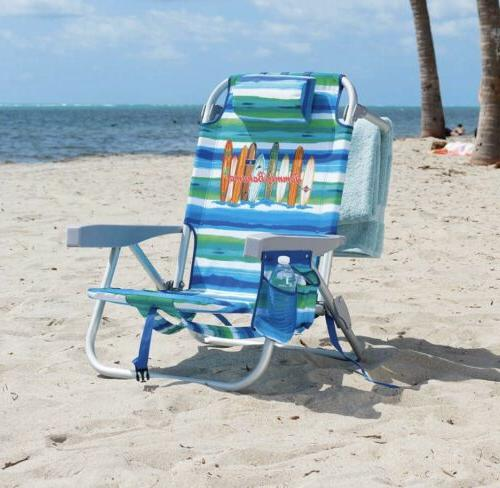 1 new backpack cooler beach chair multicolor