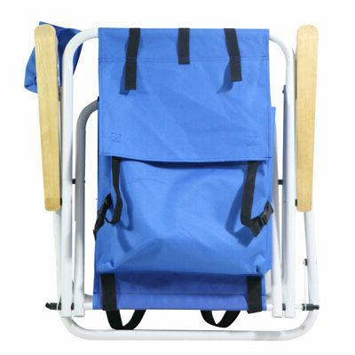 1PC Backpack Chair Portable Solid Construct Outdoor