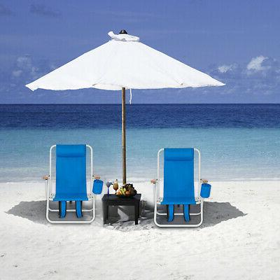 1pc backpack beach chair portable folding seat