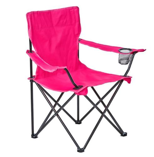 2 Pack Foldable Picnic Beach Camping Chair Up Outdoor Armchair Pink