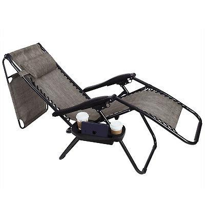 2 Gravity Recline Chairs Beach