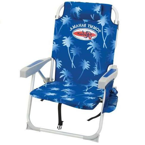 Tommy Bahama Light Blue Backpack Chair