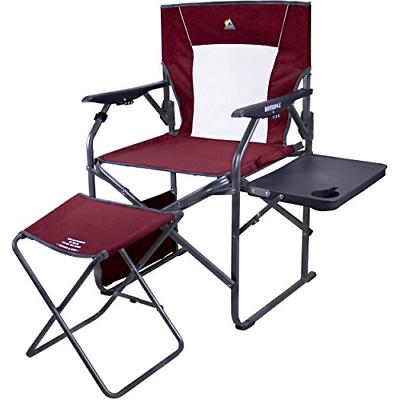 3 position reclining director s chair side
